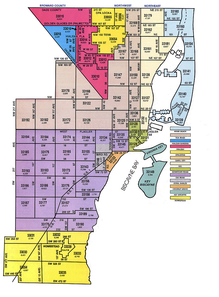 Miami Zip Code Map Miami Gardens Zip Code Map | Zip Code MAP Miami Zip Code Map